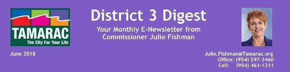 District 3 Digest: June 2018