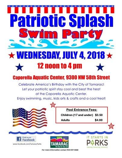 Patriotic Splash